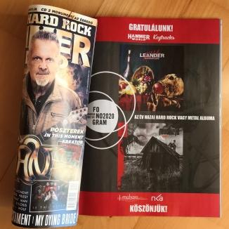 A HammerWorld magazin gratulál a Fonogram-díjas Leander Kills és Mudfield zenekaroknak