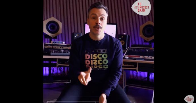 A friss Fonogram-díjas Purple Disco Machine videóüzenetben köszönti magyar közönségét!
