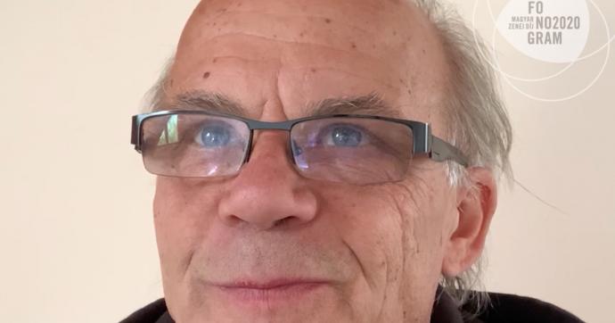 Gőz László: a Fonogram - Magyar Zenei Díj 2020 szakmai életműdíjasa