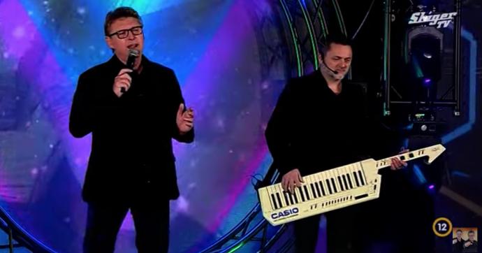 A Fonogram-díjas Dupla KáVé a Sláger TV színpadán
