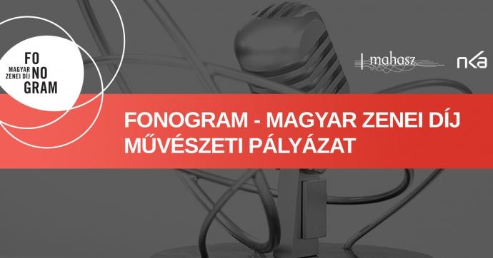 Művészeti pályázatot hirdet a MAHASZ a Fonogram-díj megújítására