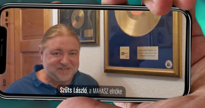 Fonogram-nap 2020 » köszöntő - Szűts László, a MAHASZ elnöke