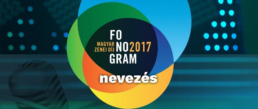 Fonogram - Magyar Zenei Díj 2017