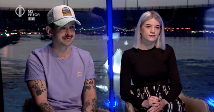 Dzsúdló a Petőfi TV-ben mesélt új daláról