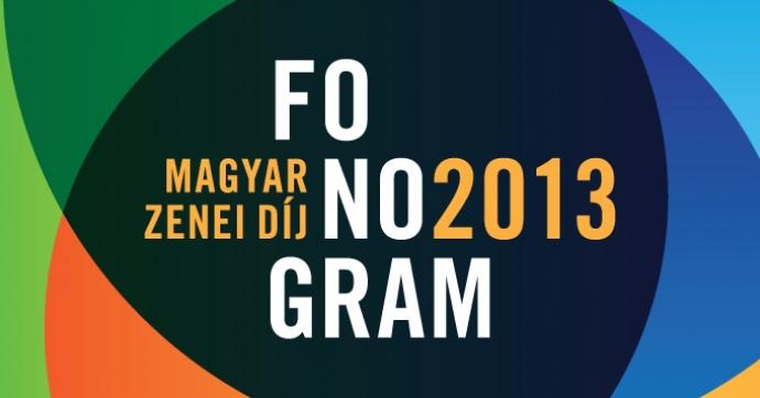 Fonogram - Jelöltek 2013