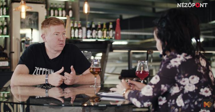 A Halott Pénz frontembere a székely Nézőpont műsorában adott interjút
