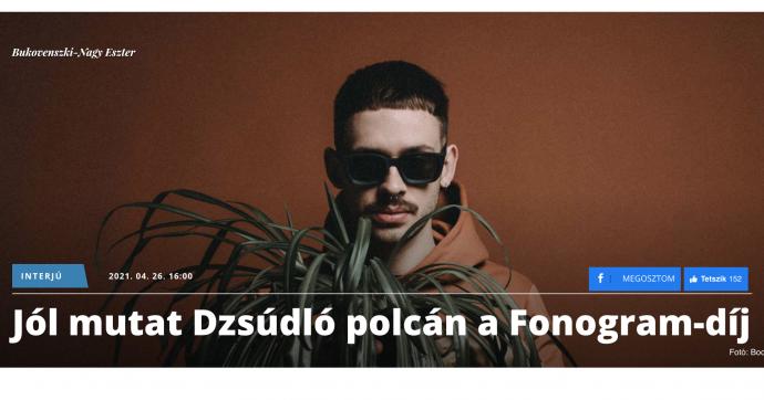 Dzsúdló interjú a BOON.hu-n!