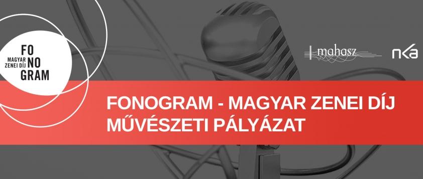 Művészeti pályázatot hirdet a MAHASZ a Fonogram-díjmegújítására